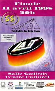 Affiche finale 97-98