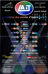 Affiche saison 94-95
