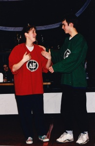 Finale 94-95 Isabelle et Steeve